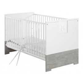 Бебешко легло конвертируем в детско Звежда