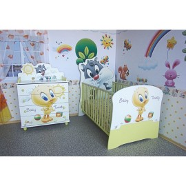 Мебели за бебешка стая Baby Sylvester & Tweety