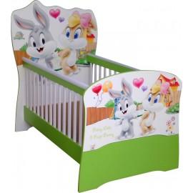 Бебешко легло конвертируем в детско с Baby Looney Tunes пдч
