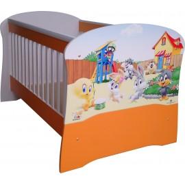 Бебешко легло конвертируем в детско BLT3 ПДЧ или МДФ