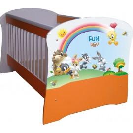 Бебешко легло конвертируем в детско BLT 5 ПДЧ или МДФ