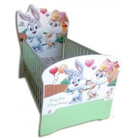 Бебешко легло конвертируем в детско Baby Lola and Bugs Bunny
