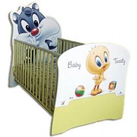 Бебешко легло конвертируем в детско Baby Sylvester & Tweety