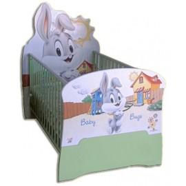 Бебешко легло конвертируем в детско Baby Bugs Bunny
