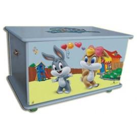 Кутия за играчки за детска стая Baby Lola & Bugs Bunny