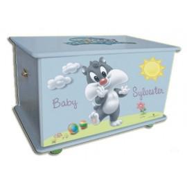Кутия за играчки за детска стая Baby Sylvester