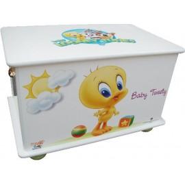 Кутия за играчки за детска стая Baby Tweety