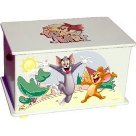 Кутия за играчки за детска стая Tom and Jerry