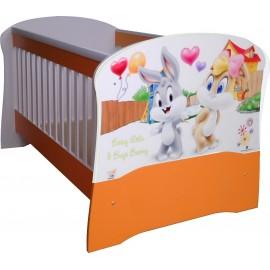 Бебешко легло конвертируем в детско BLT214 ПДЧ или МДФ