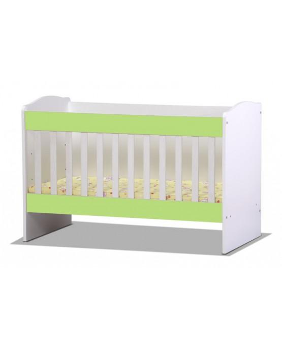 Бебешко легло Rodos green