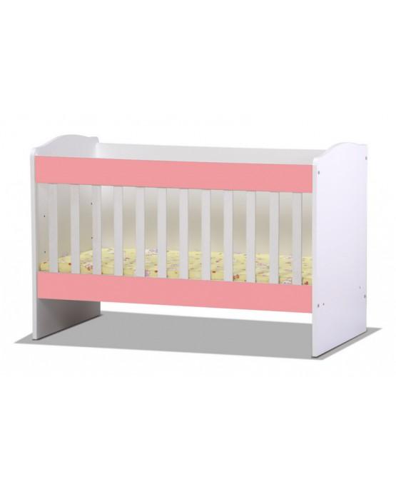 Бебешко легло Rodos pink1