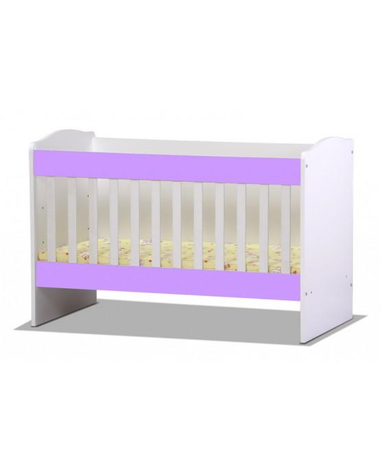 Бебешко легло Rodos purple1