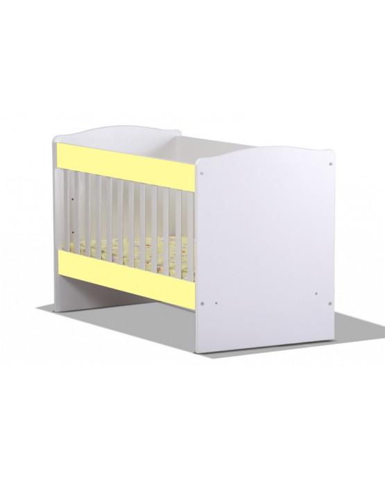 Бебешко легло Rodos yellow1