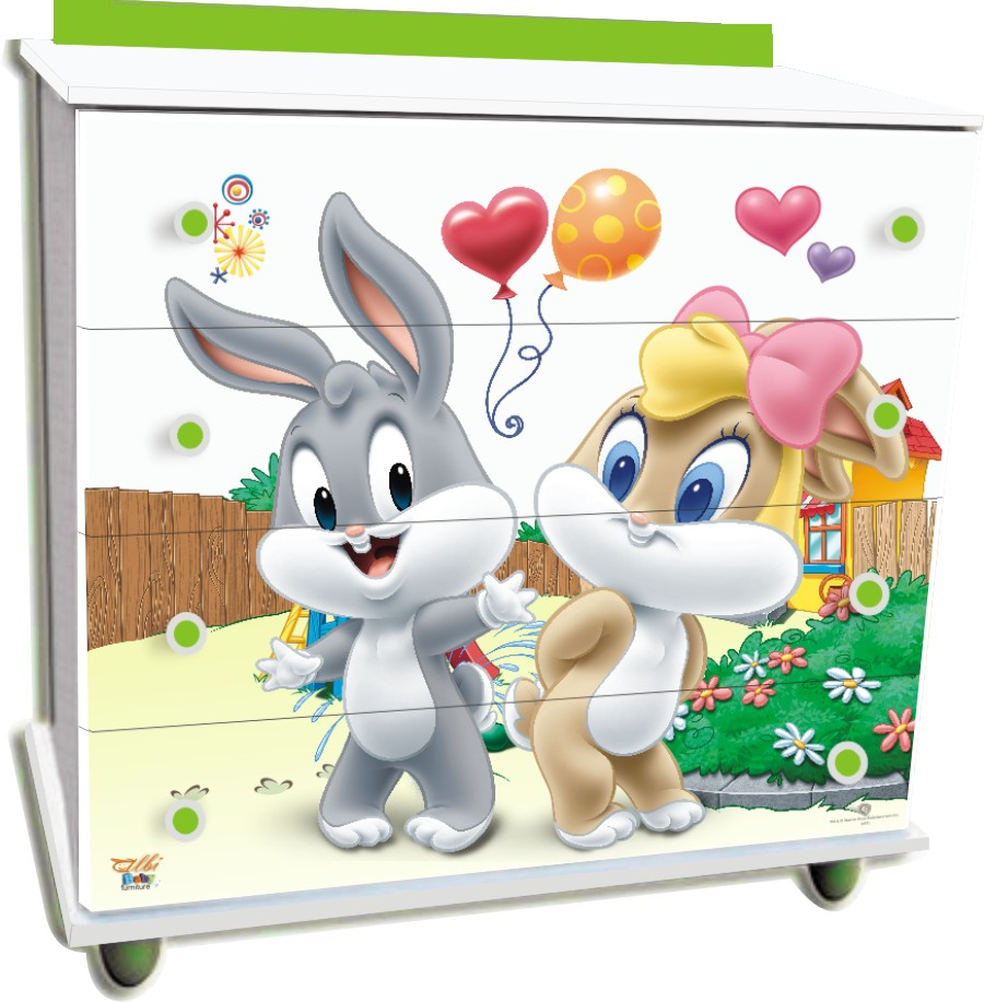 Baby Lola & Bugs Bunny 214
